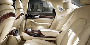 Intérieur 01 de la Limousine Audi A8